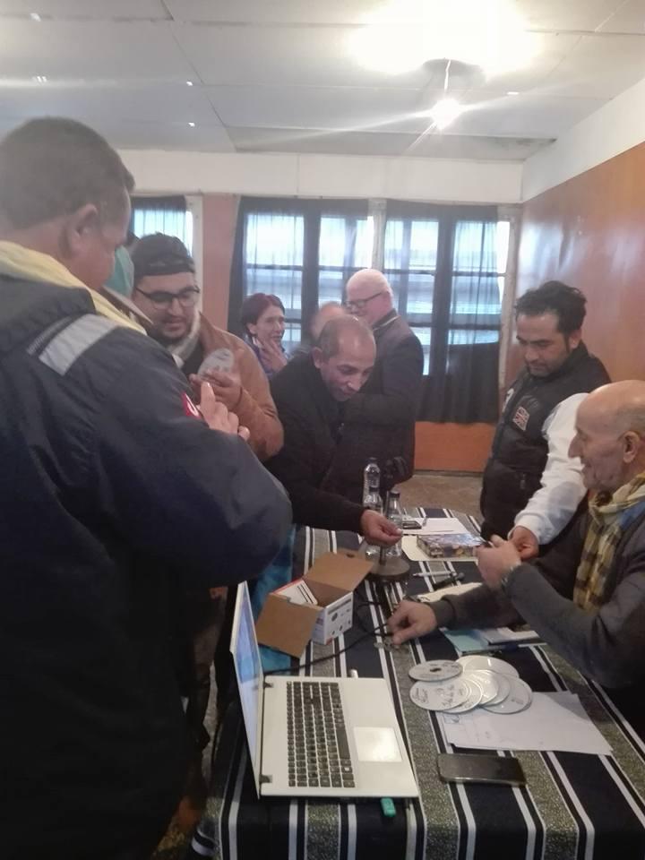 Kamel Drici et Slimane Belharet  à Aokas le samedi 13 Janvier 2018 2030