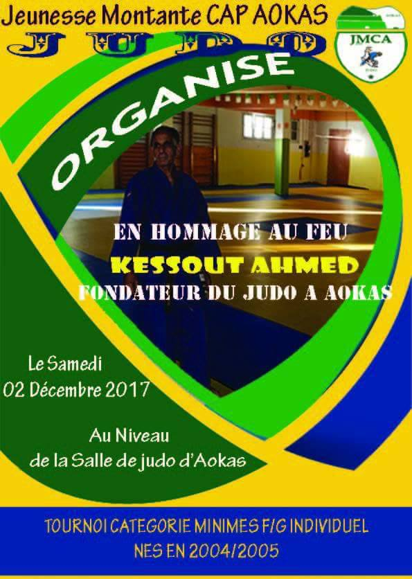 Tournoi à la mémoire de Kessout Ahmed samedi 02 decembre 2017 a Aokas  423