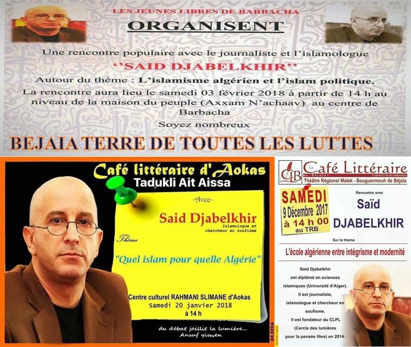 L'islamologue Said Djabelkhir à Barbacha le samedi 03 février 2018 536