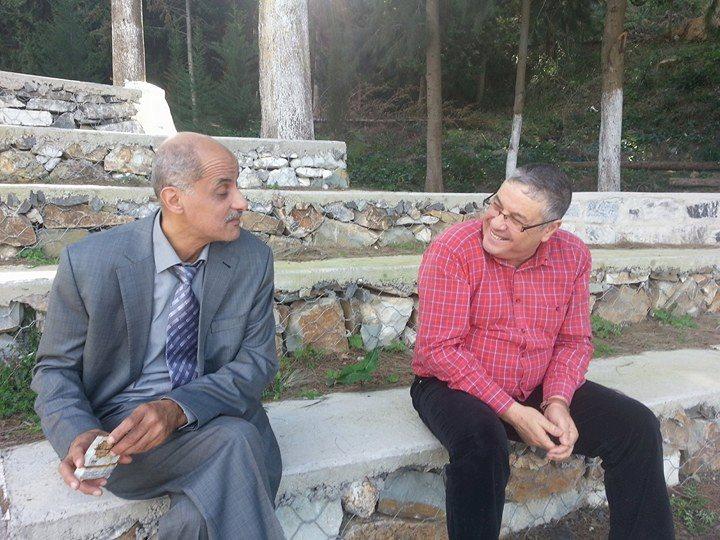 l'écrivain Djamel Taibi à Bouteghwa (Ait Aissa, Aokas) le samedi 06 janvier 2018 6019