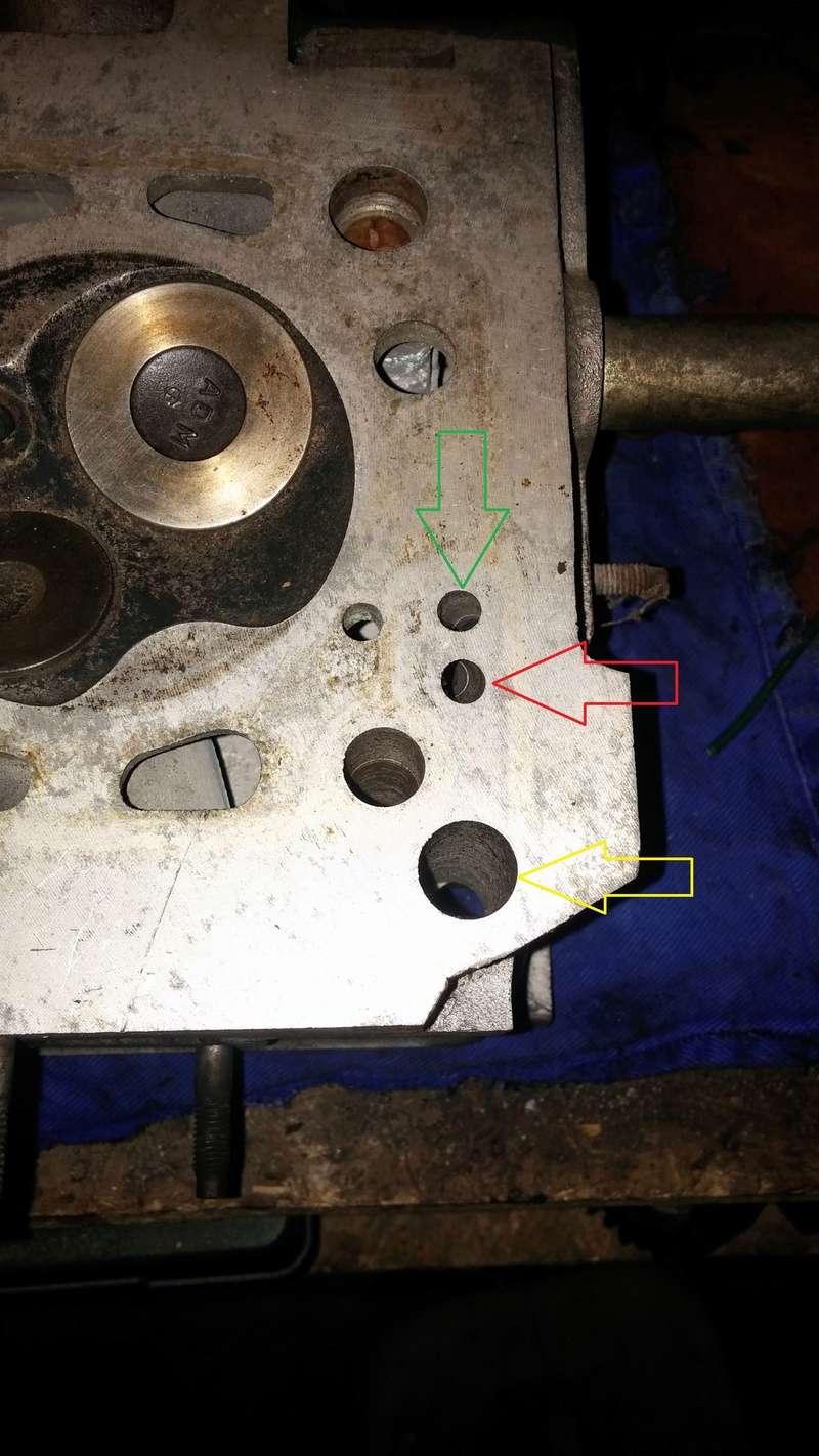 Circuit d'huile 610