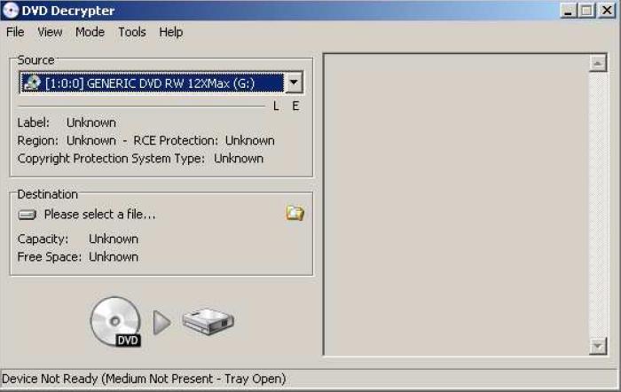 Graver avec DVD decrypter 111