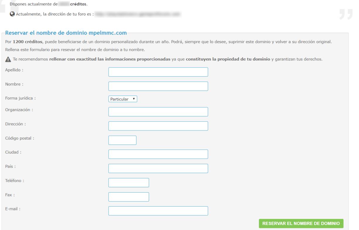 Nombre de dominio personalizado 48dde710