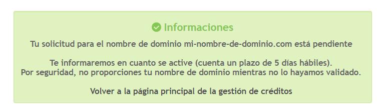 Nombre de dominio personalizado Be67ef10
