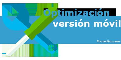 [Noticia] Optimización de la versión móvil Optimi11