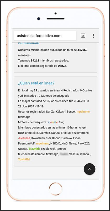 Optimización de la versión móvil Sin_ty13