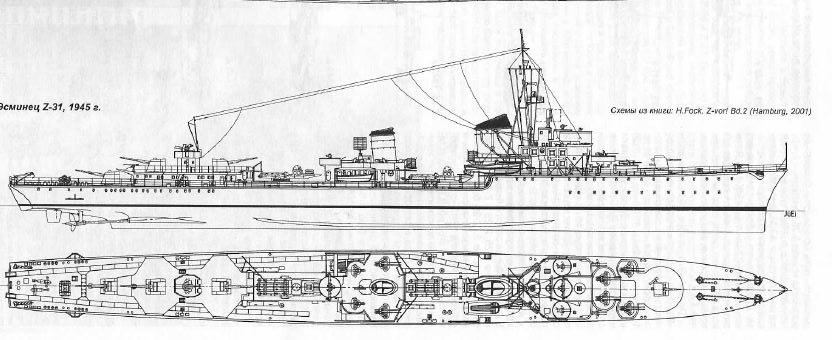 Montage du Contre-torpilleur Marceau 1/400  - Page 2 Z31_ze12