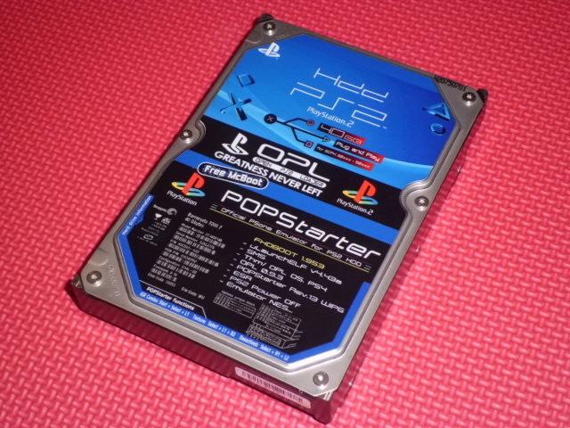PlayStation 2 + HDD Cimg0669