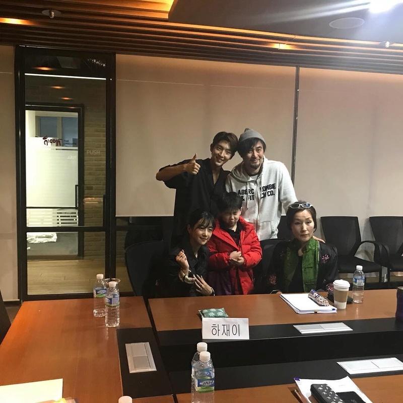 27032018 Lee Joon gi fotos de la primera lectura del guion  Dzrczj10