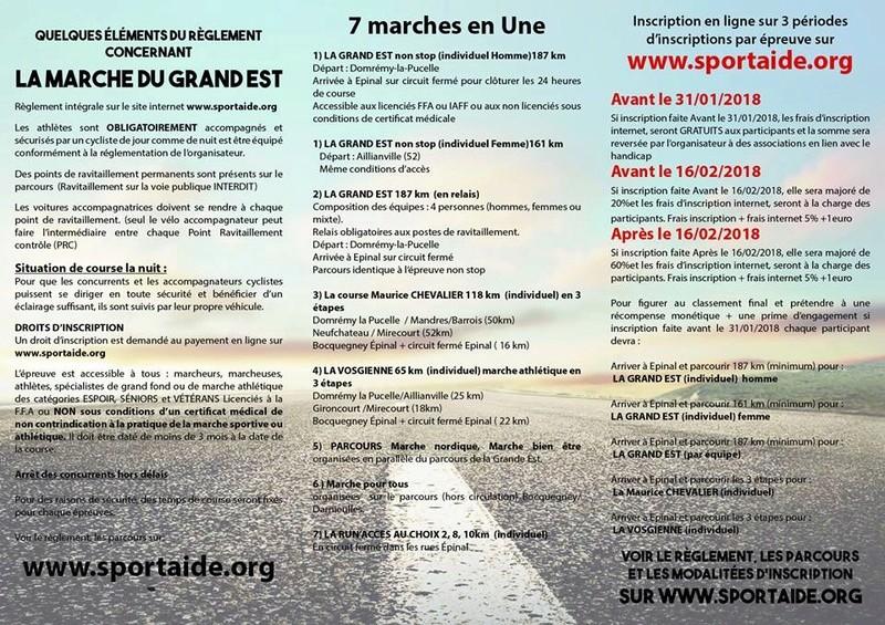 31-03 au 01-04-2018 La Marche du Grand Est 22007610