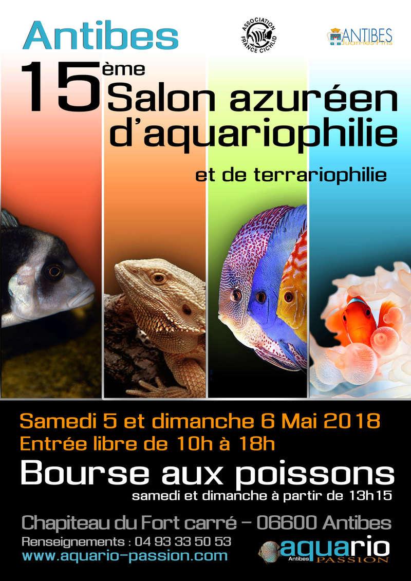 15 éme salon de l'aquario et terrario d'Antibes (06) Affich11