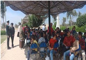 الداخلية تنظم حفلاً للأطفال الأيتام بأكاديمية الشرطة اليوم  Uti10