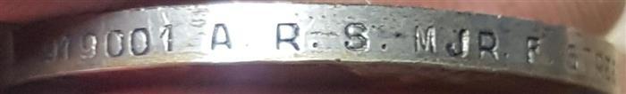 A.R.S. MJR. F. STREET Naming15