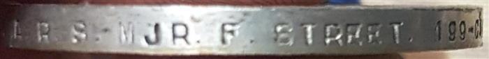 A.R.S. MJR. F. STREET Naming16