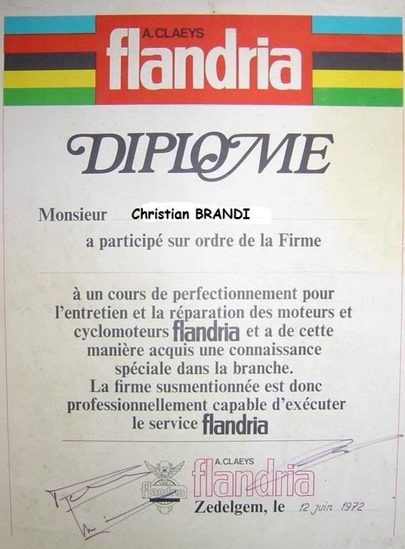 Présentation  nouvelle pour une Flandria Diplom10