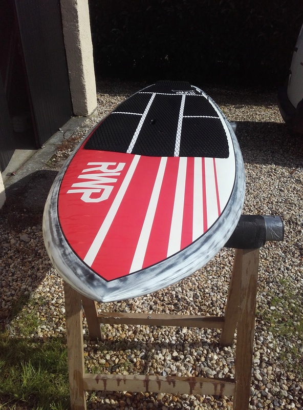 Red Wood Paddle Source pro 8'6 VENDU 20170810