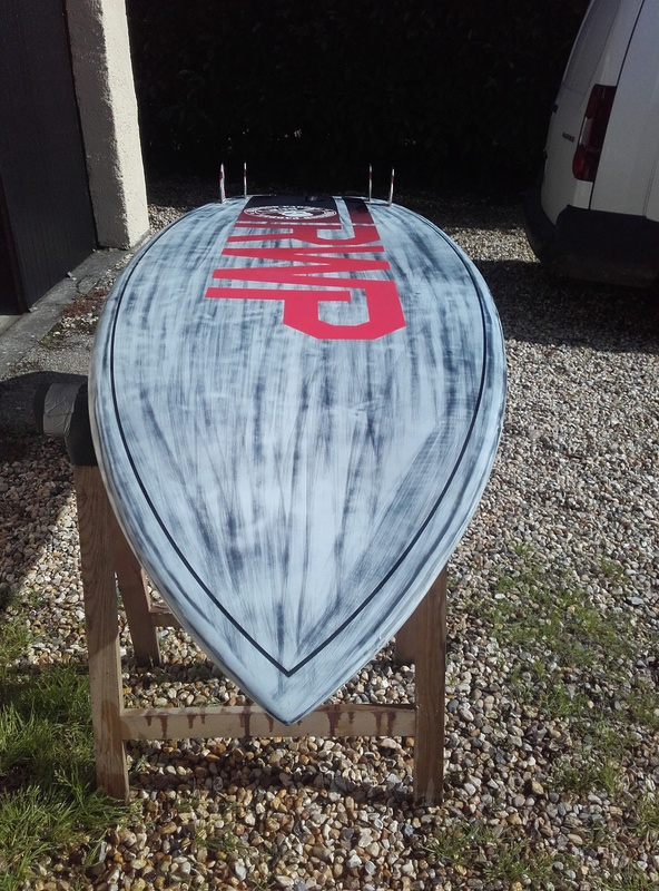 Red Wood Paddle Source pro 8'6 VENDU 20170811