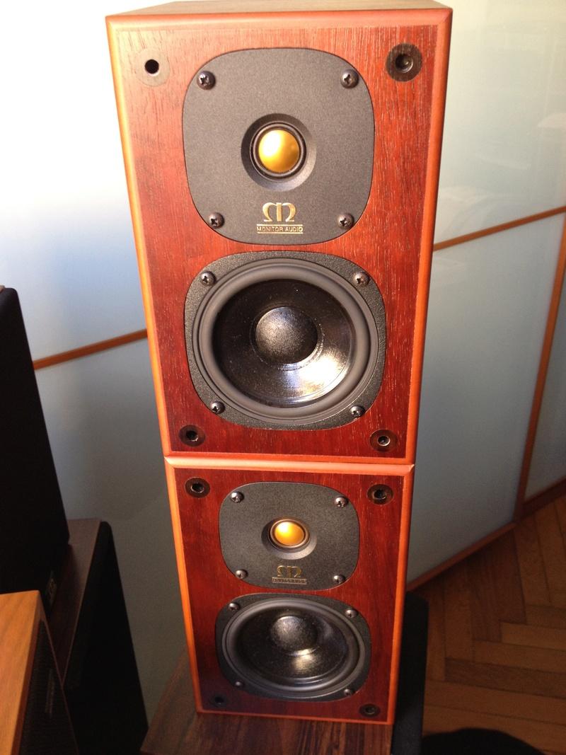 (To) Vendo diffusori Monitor Audio Gold One 'Heritage' biwiring Iphone29