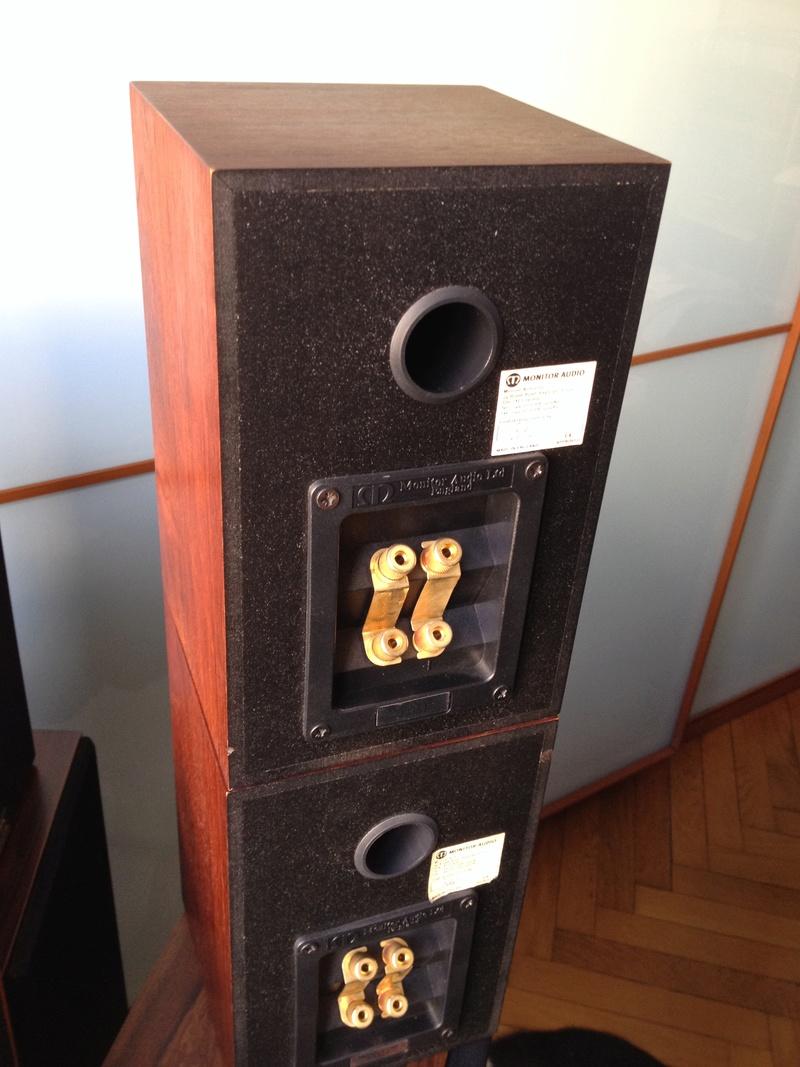 (To) Vendo diffusori Monitor Audio Gold One 'Heritage' biwiring Iphone30