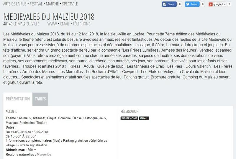 mini rasso 2018 Les Médiévales de Malzieu - Page 3 Captur79