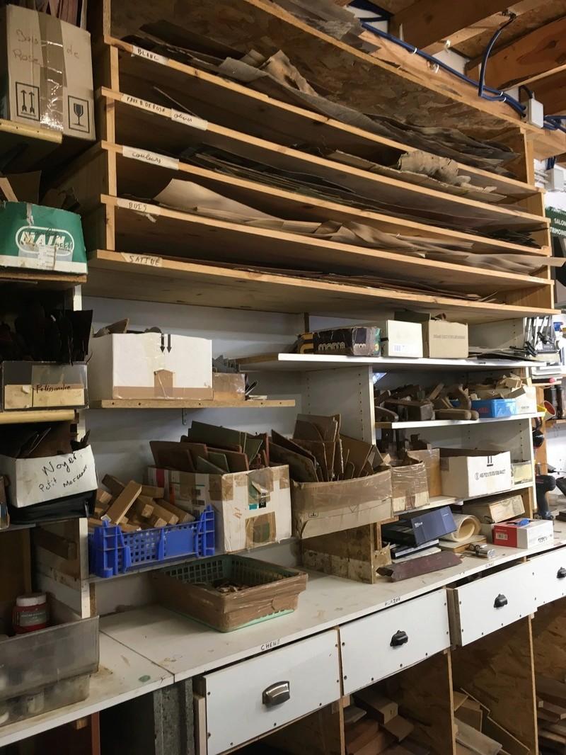 Visite d'un Atelier de restauration 1110