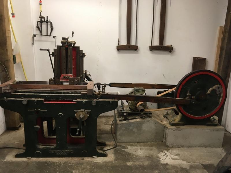 Visite d'un Atelier de restauration 2911
