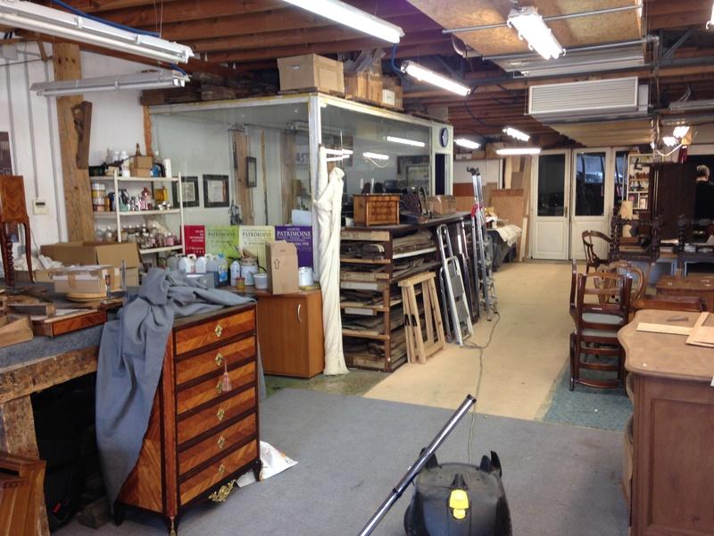 Visite d'un Atelier de restauration 510