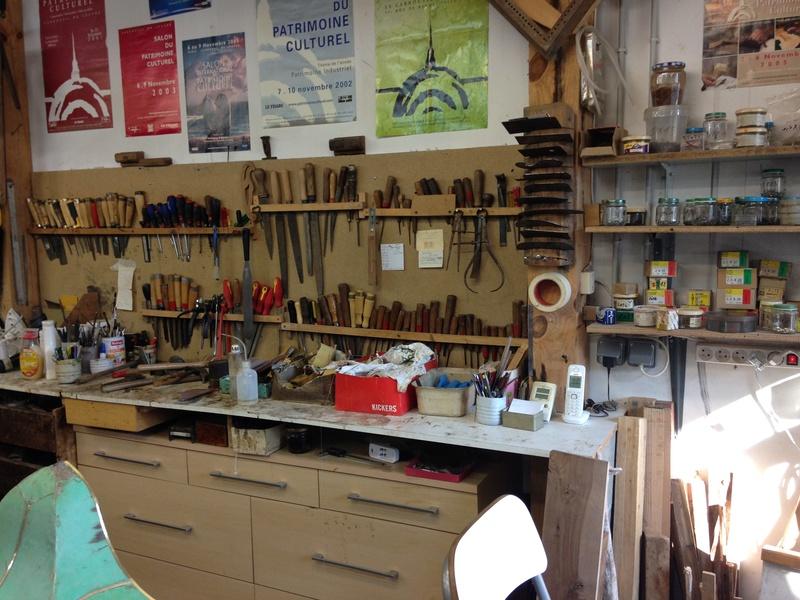 Visite d'un Atelier de restauration 610