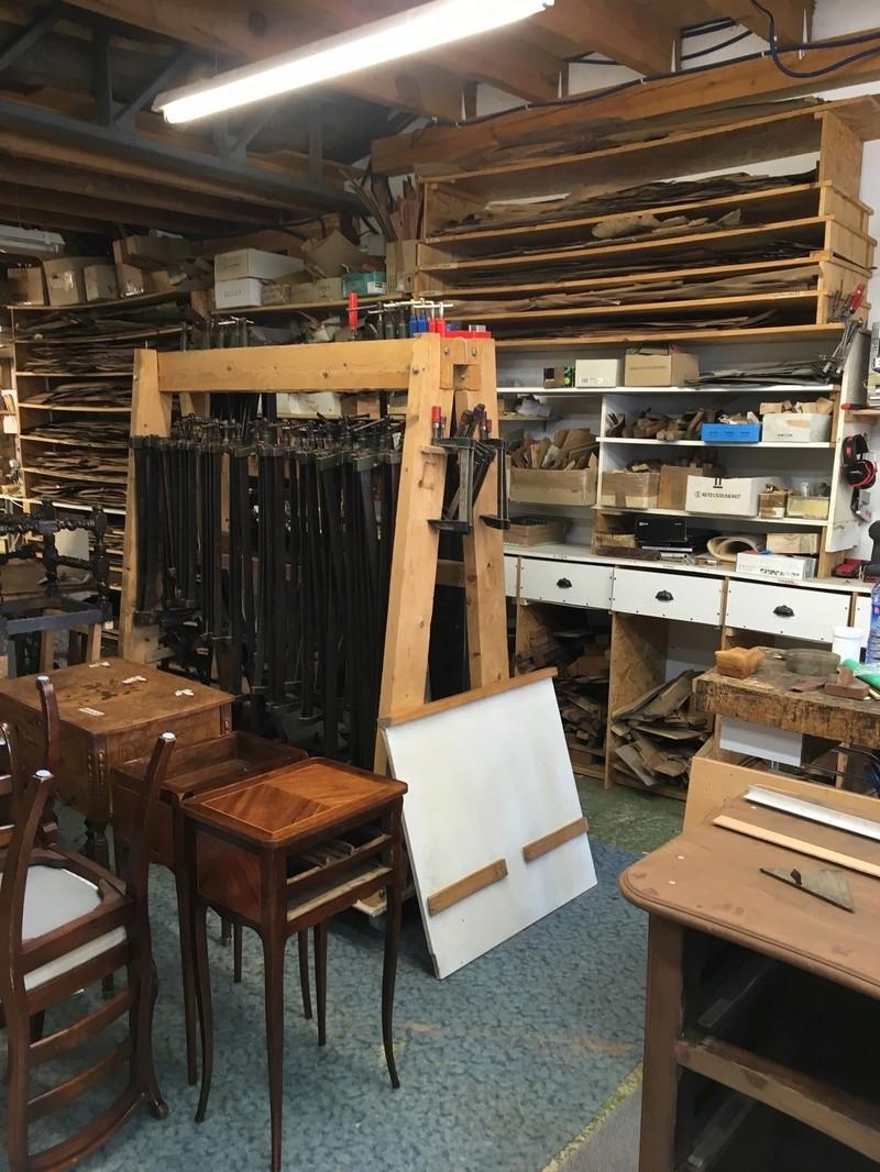 Visite d'un Atelier de restauration 710