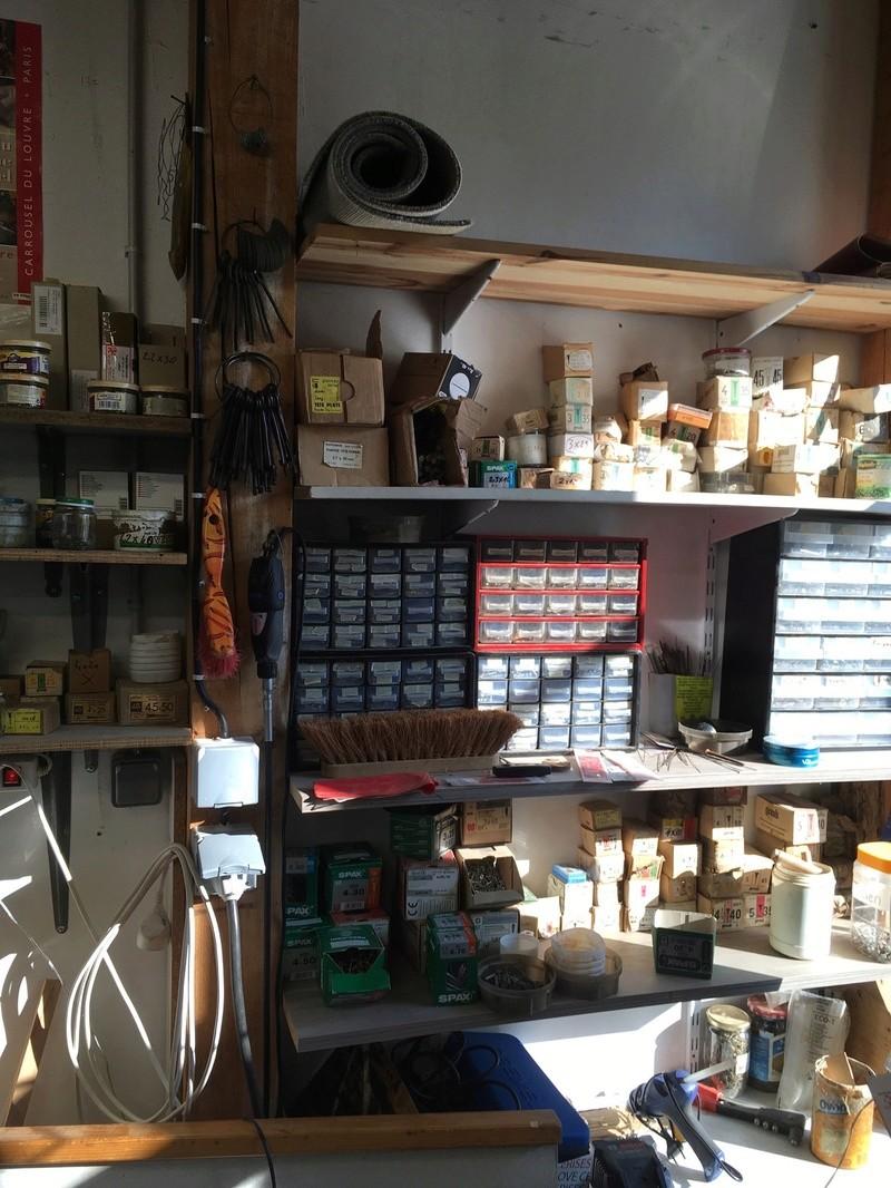 Visite d'un Atelier de restauration 910
