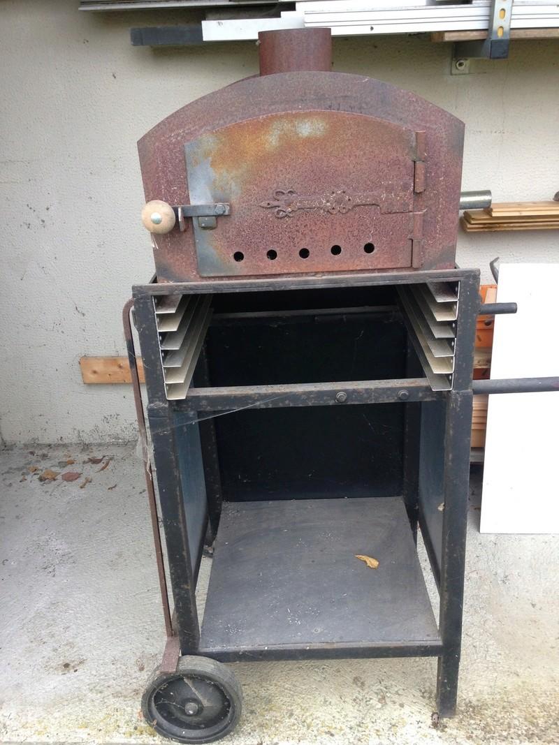 un four à bois en cuisine Img_2320