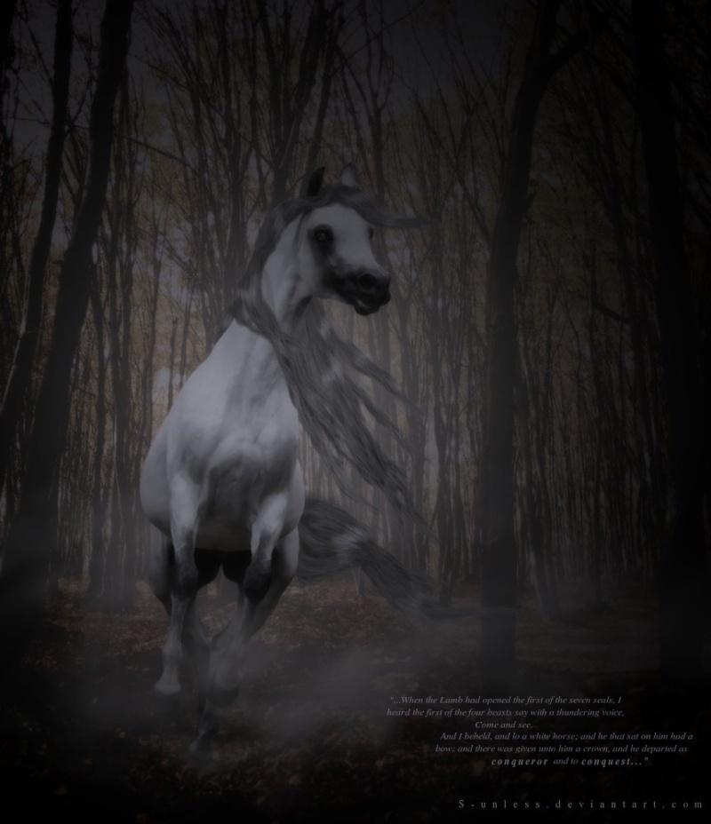 Pestilence • Cheval de l'Apocalypse 3 • Libre Apocal10