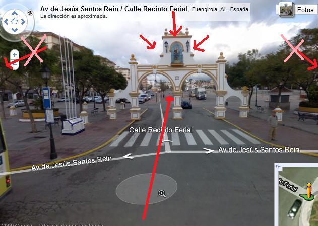 Llegar al Palacio de la Paz desde RENFE Arco_c10