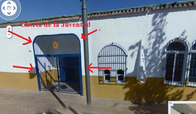 Llegar a la Caseta de la Juventud de Fuengirola desde RENFE Caseta10