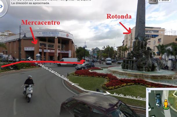 Llegar al Palacio de la Paz desde RENFE Mercac10