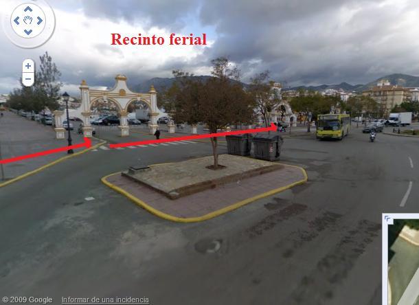 Llegar al Palacio de la Paz desde RENFE Recint10