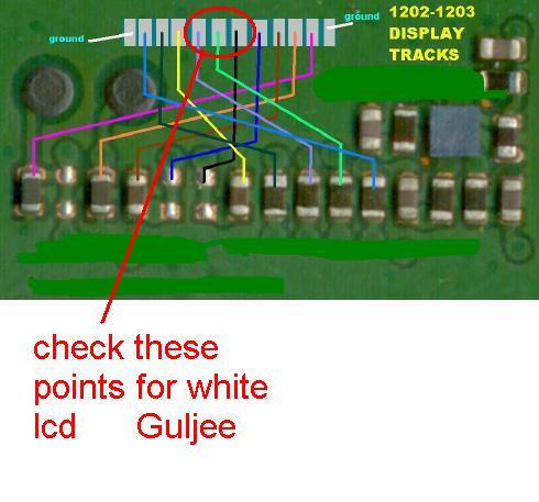 1202 display track white screen 163c8d10