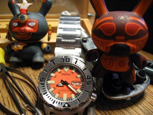 Seiko hands and my tools were home last night!! Orange10