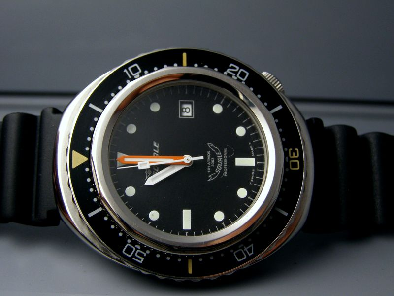 A couple very cool vintage watches... Squale10