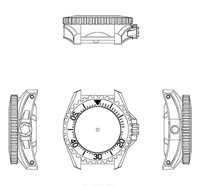 Tempest Watches: Viking Concept - Professional Grade Divers Watches Tempes11
