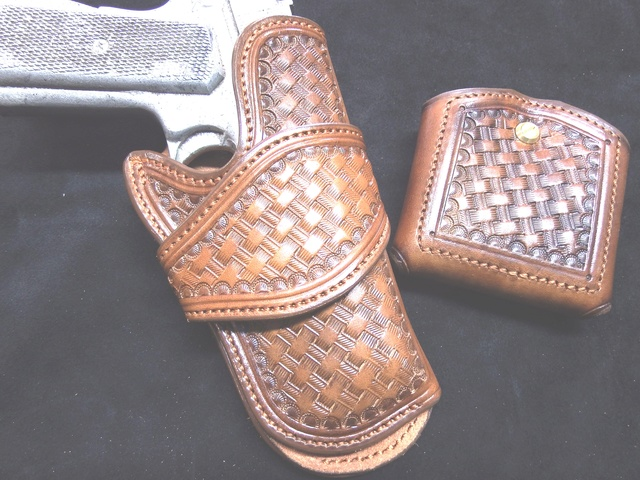 HOLSTER AUSTIN (A.W BRILL) by La SELLERIE Dscf0047