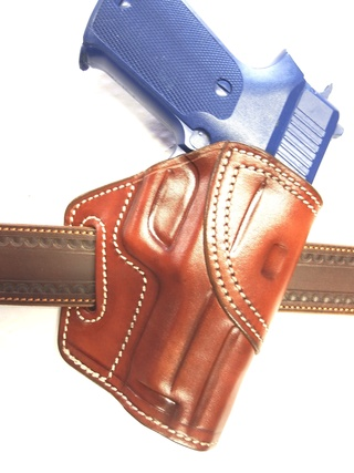 """HOLSTER """"STAND .HIP. DRAW"""" by La SELLERIE Dscf0211"""
