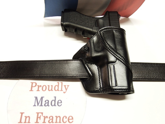 """HOLSTER """"STAND .HIP. DRAW"""" by La SELLERIE Dscf0914"""