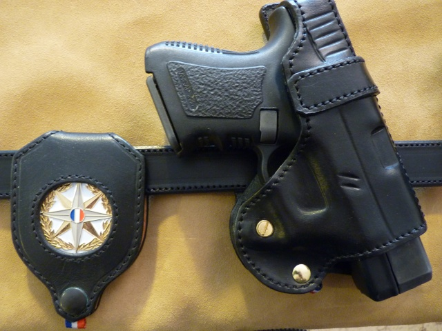"HOLSTER ""CROSS DRAW"": le ""P.A.C.O"" by SLYE  P1000318"