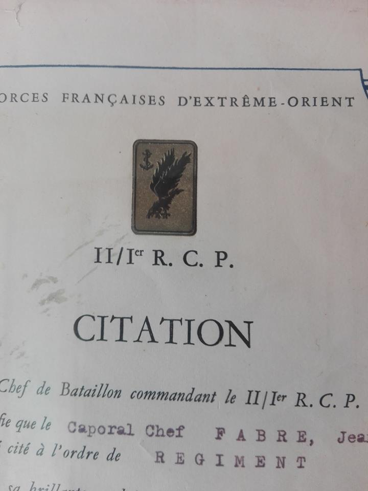 Sergent du II/1er RCP - Hanoï - 1954 32815910