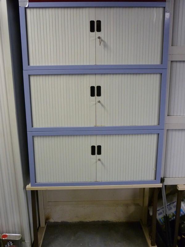 [Vds] Meubles à rideaux . Ideal atelier garage Meuble12