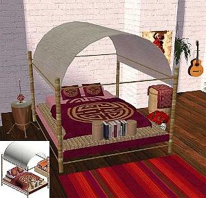 Спальни, кровати (восточные мотивы) - Страница 2 1576