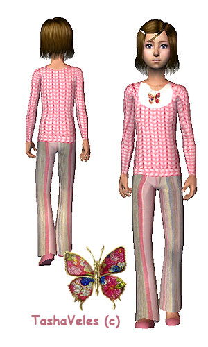 Для детей (повседневная одежда) - Страница 3 Ddnndd39