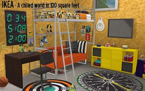 Комнаты для детей и подростков      - Страница 7 Uten_302