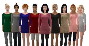 Повседневная одежда (платья, туники, комплекты с юбками) - Страница 65 Uten_326
